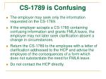 cs 1789 is confusing