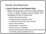 cache architecture1