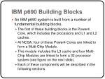 ibm p690 building blocks
