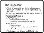 the processor1