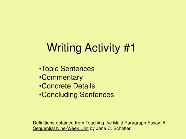 writing activity 1 n.