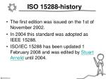 iso 15288 history