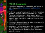 facet geographic