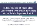 independence at risk older californians with disabilities hold on as public supports shrink