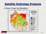 satellite hydrology products1