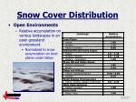 snow cover distribution7