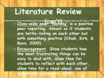 literature review con t5
