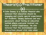 theorist s practitioner s1