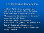 the barbadian connection