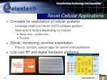 novel cellular applications