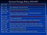 german foreign policy 1933 1937