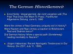 the german historikerstreit