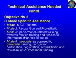 technical assistance needed contd3