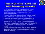 trade in services ldcs and small developing countries