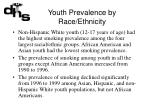 youth prevalence by race ethnicity