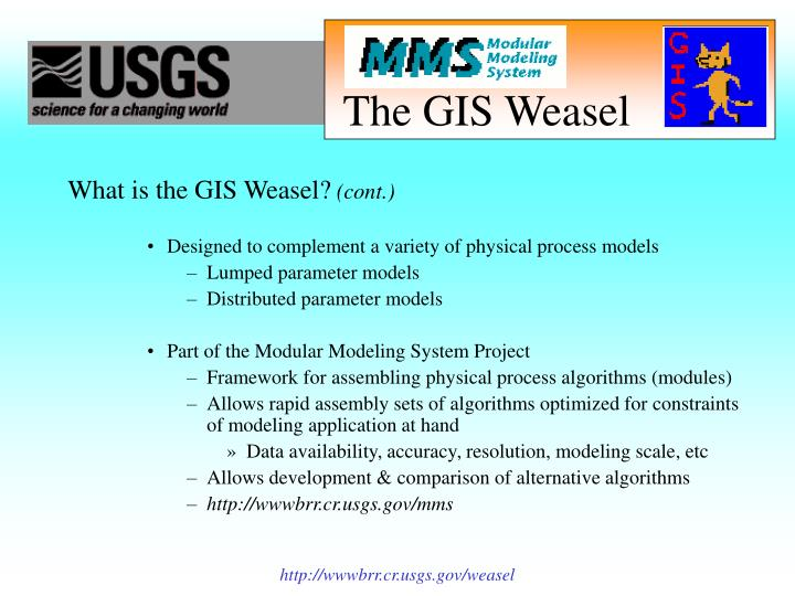 The gis weasel3