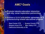 amc 2 goals