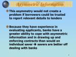 asymmetric information1