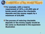contraction of the money supply1