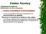 calder factory21