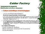 calder factory22