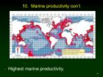 10 marine productivity con t