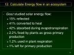 12 calculate energy flow in an ecosystem