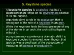 5 keystone species10