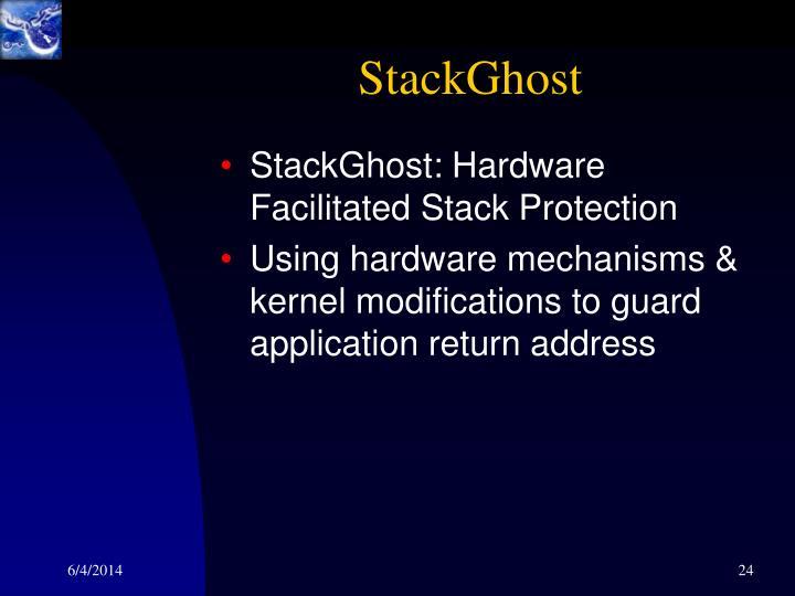 StackGhost