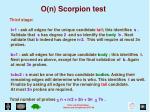 o n scorpion test2