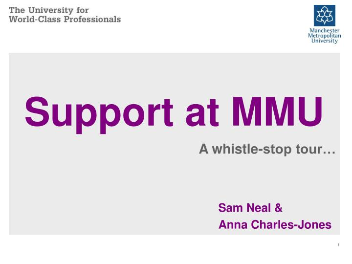 support at mmu n.