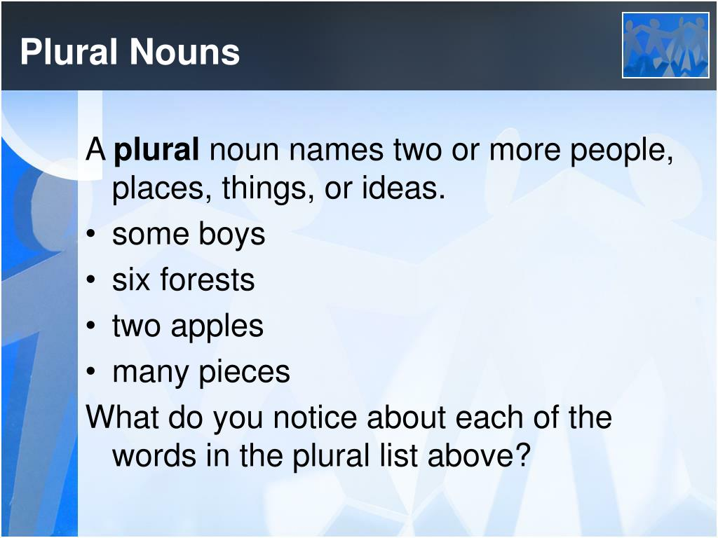 plural nouns Learn the basics of singular nouns and plural nouns for english grammar.