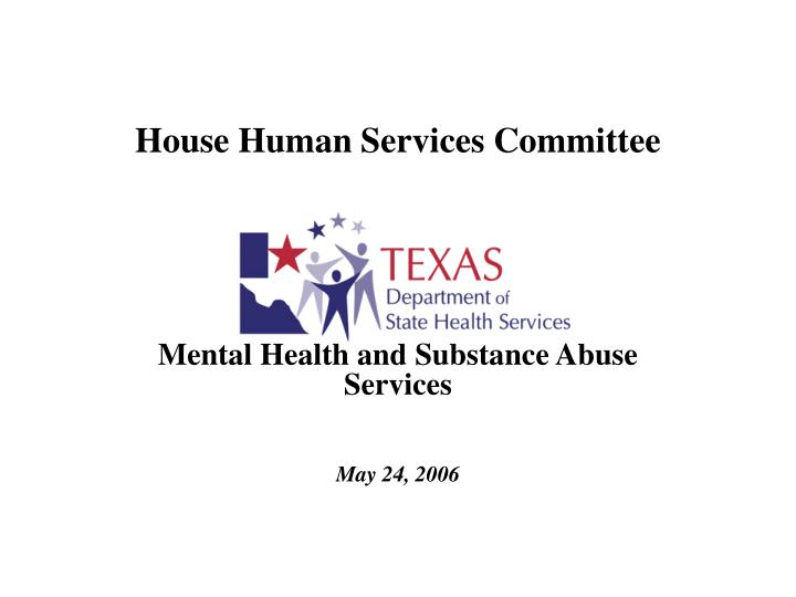 house human services committee n.