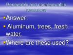 renewable and nonrenewable resources1