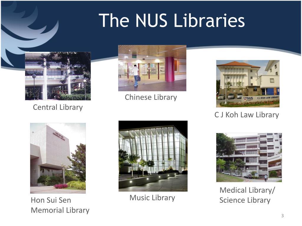The NUS Libraries