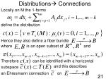 distributions connections