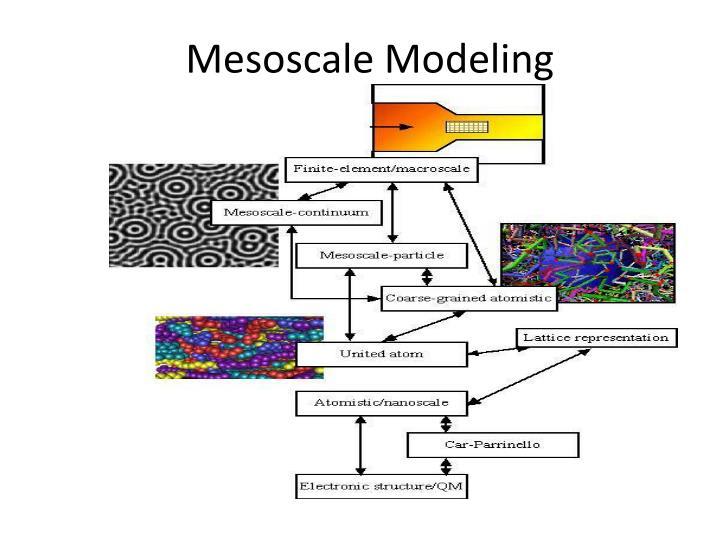Mesoscale