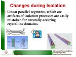 changes during isolation1