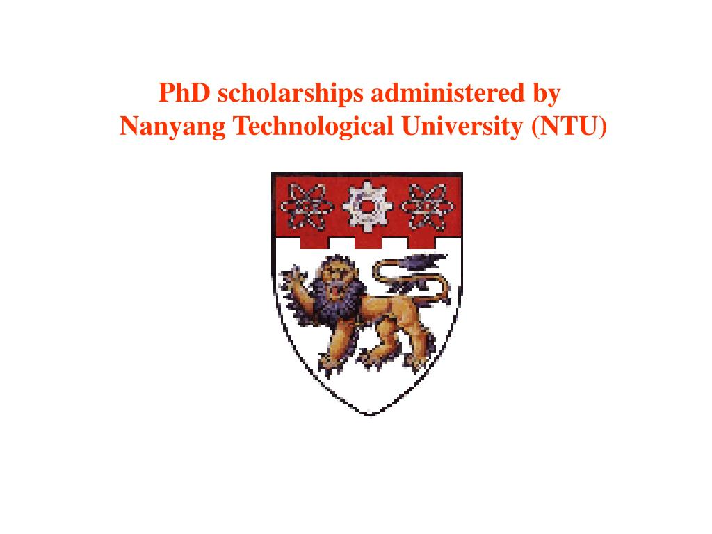 PhD scholarships administered by