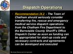 dispatch operations