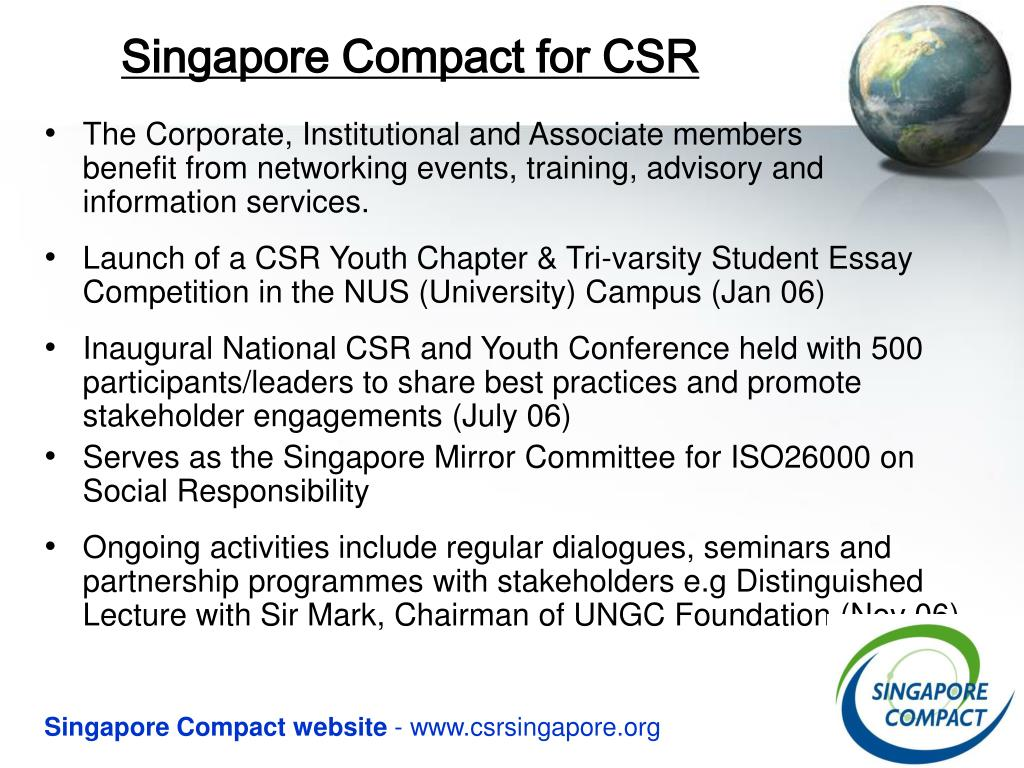 Singapore Compact for CSR