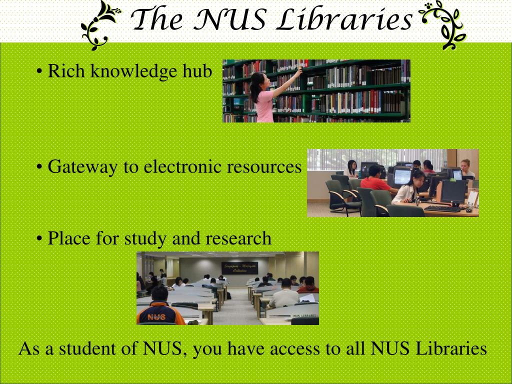 The NUS Libraries