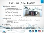 the clean water process