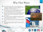 why first water