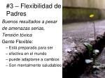 3 flexibilidad de padres