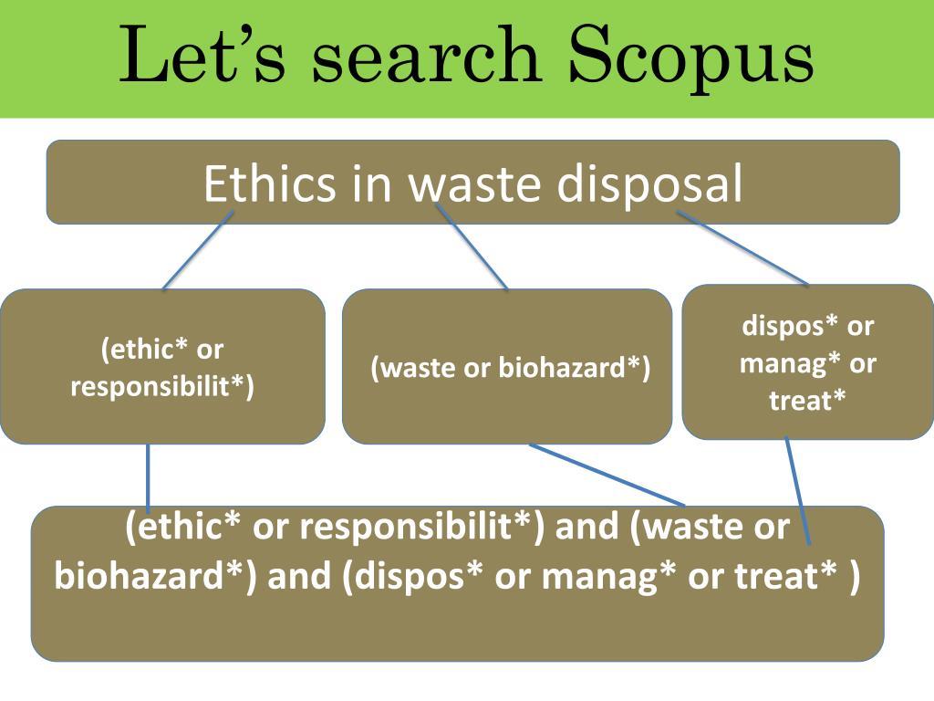 Let's search Scopus