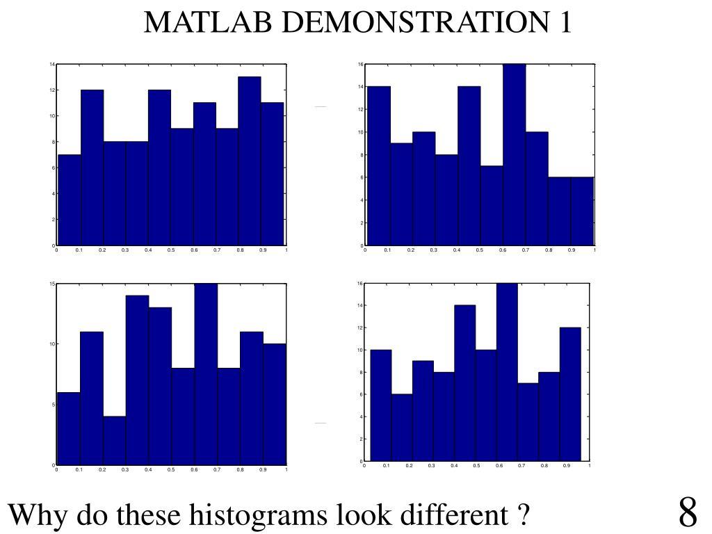 MATLAB DEMONSTRATION 1
