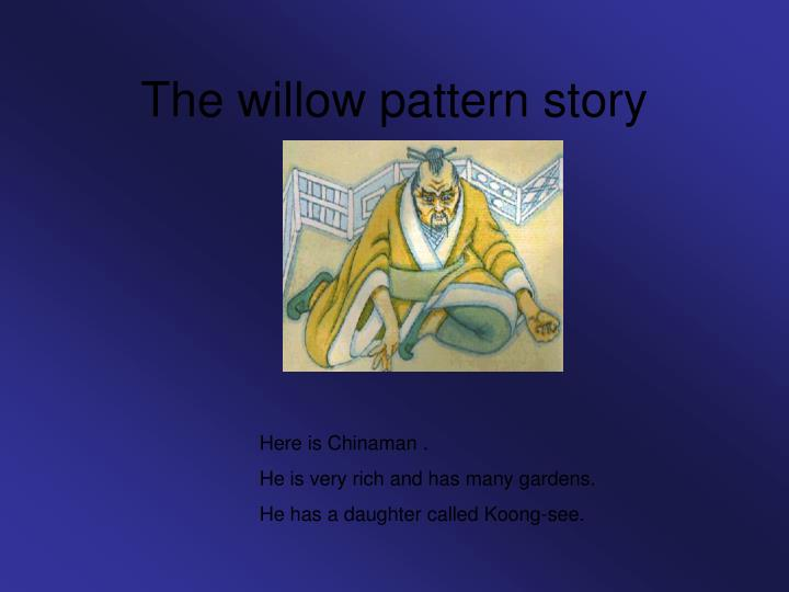the willow pattern story n.