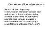 communication interventions1