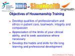 objectives of housemanship training6